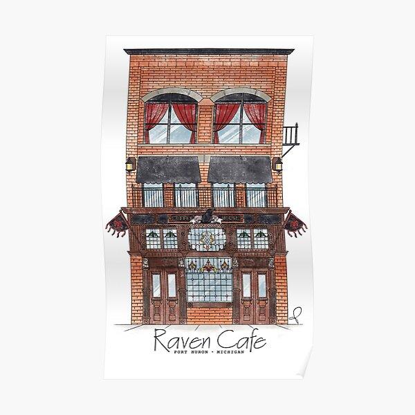 Raven Facade  Poster