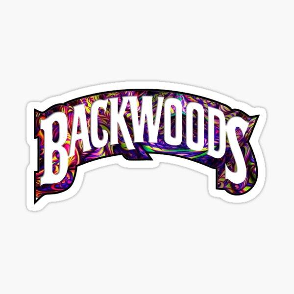 Backwoods Purple Trippy Sticker