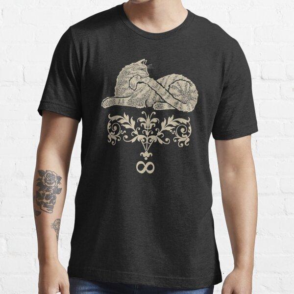 Mrs Puff, Ada Lovelace cat. Urobotocat. Essential T-Shirt