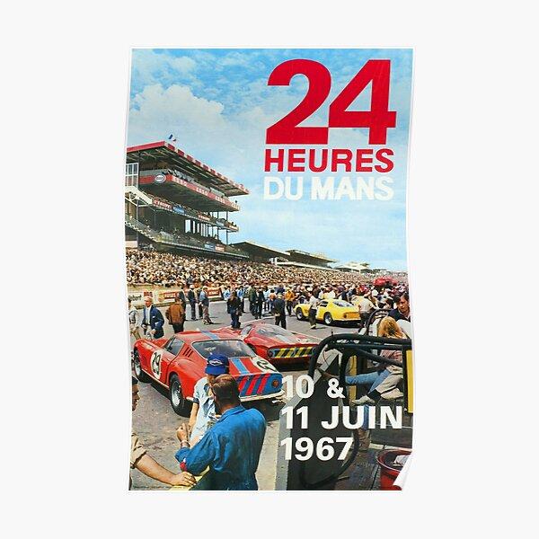 Le Mans - 24h -1967 Poster