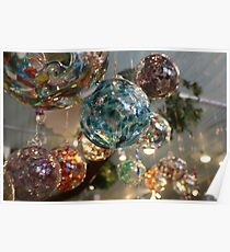 Glass Balls Poster