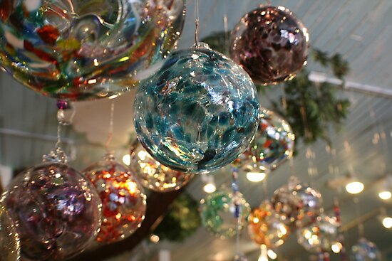 Glass Balls by Dana Yoachum