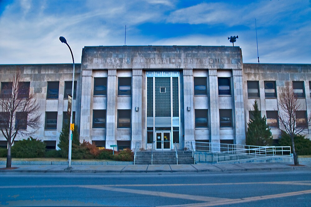 Custer County (Montana) Court House by Bryan D. Spellman