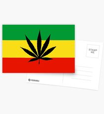 Canabis case Postcards