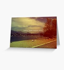 Confoederatio Helvetica Greeting Card