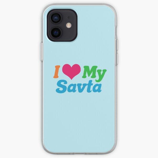 I Love My Savta iPhone Soft Case