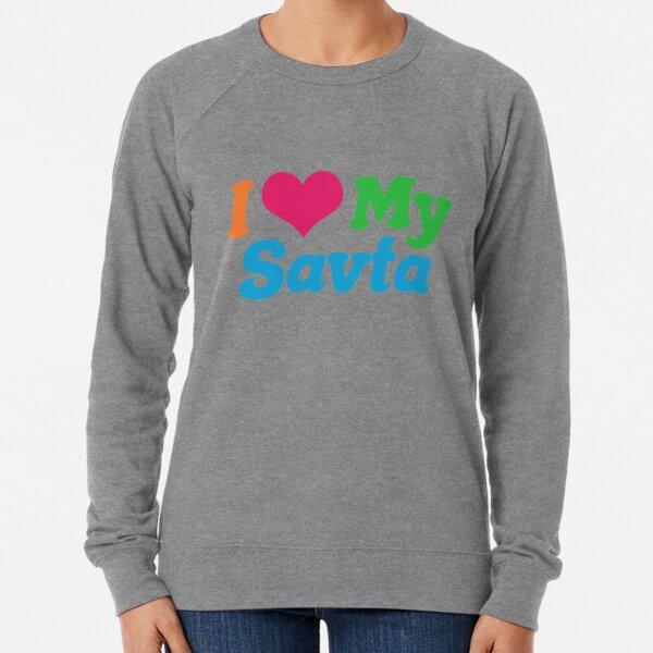 I Love My Savta Lightweight Sweatshirt