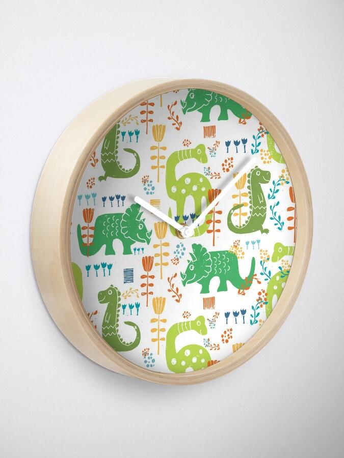 Alternate view of Dinos Clock