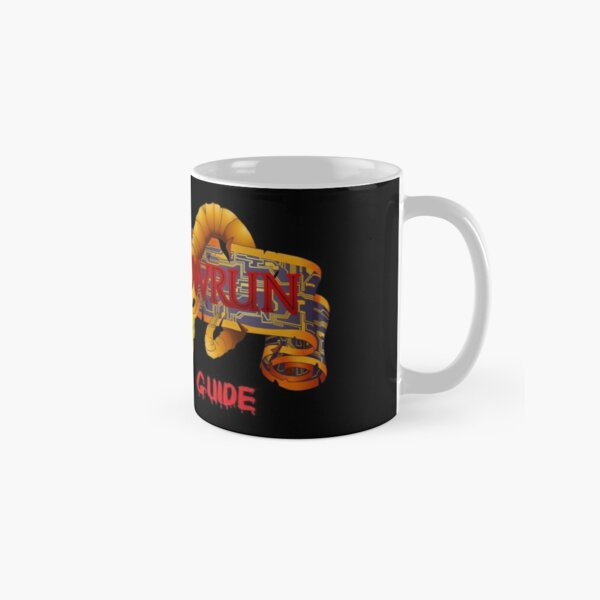 Shadowrun Survival Guide Original Logo Classic Mug