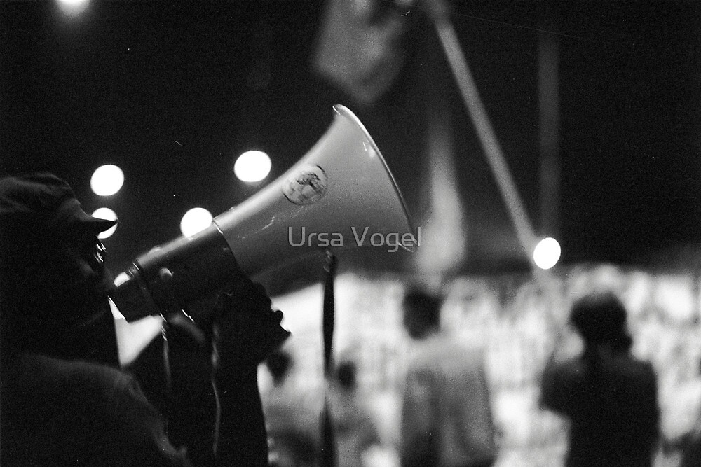 1987 - demonstration by Ursa Vogel