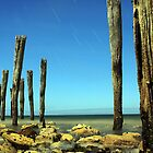 Kingscote's Ye Olde Jetty Posts @ Midnight  by Photography1804