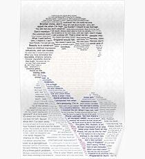 BBC Sherlock Holmes Typography Poster