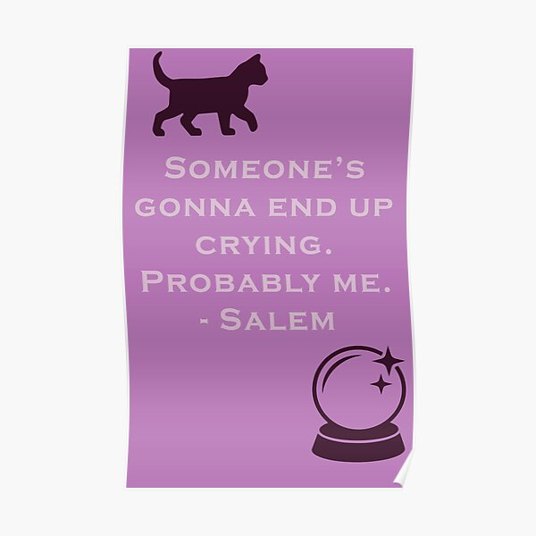 Crying Cat Posters