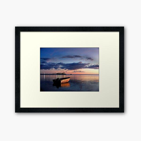 alyangula, groote eylandt, nt australia Framed Art Print