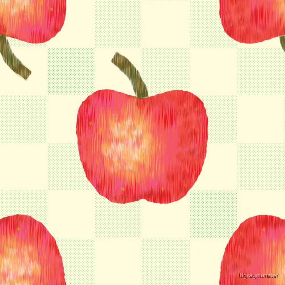 Apples and Checks by ltlgraymonster