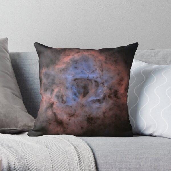 Starless rosette nebula Throw Pillow
