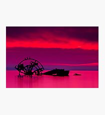 """Aground in a Candied Cove"" Photographic Print"