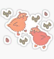 Shower Ducklings Sticker