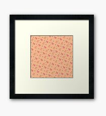 Shower Ducklings Framed Print