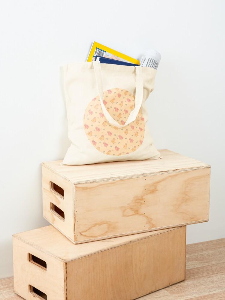 Alternate view of Shower Ducklings - Light Tote Bag