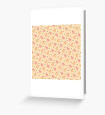 Shower Ducklings - Light Greeting Card