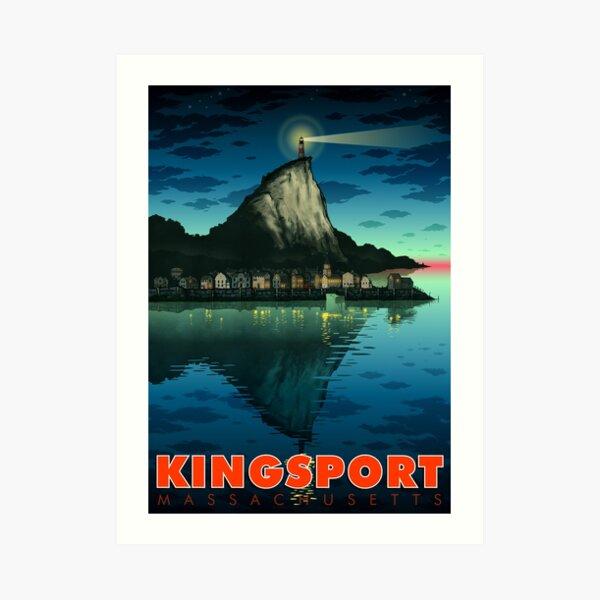 Greetings From Kingsport, Mass Art Print