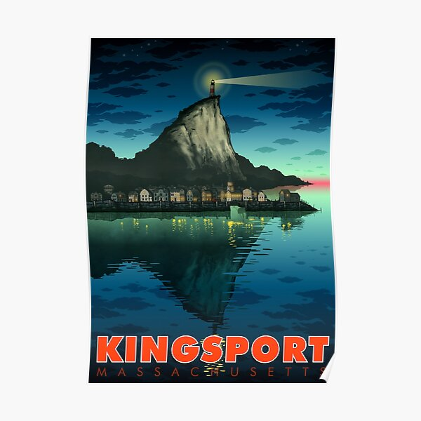 Greetings From Kingsport, Mass Poster