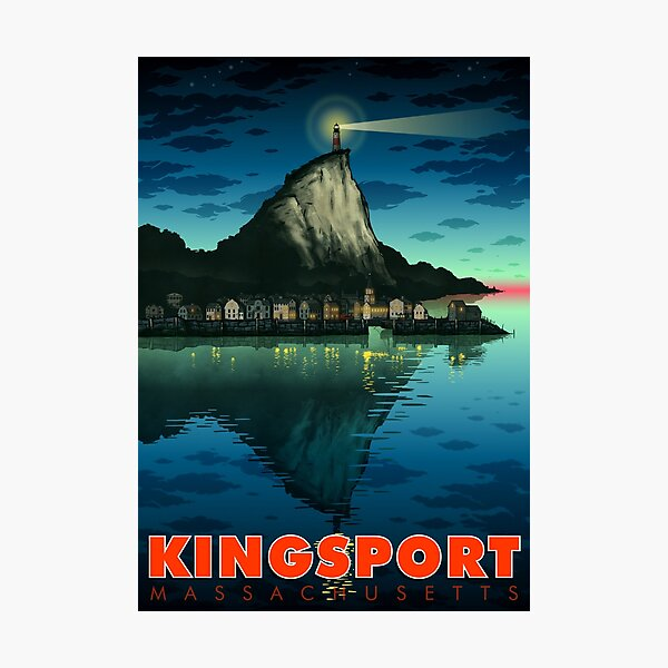Greetings From Kingsport, Mass Photographic Print