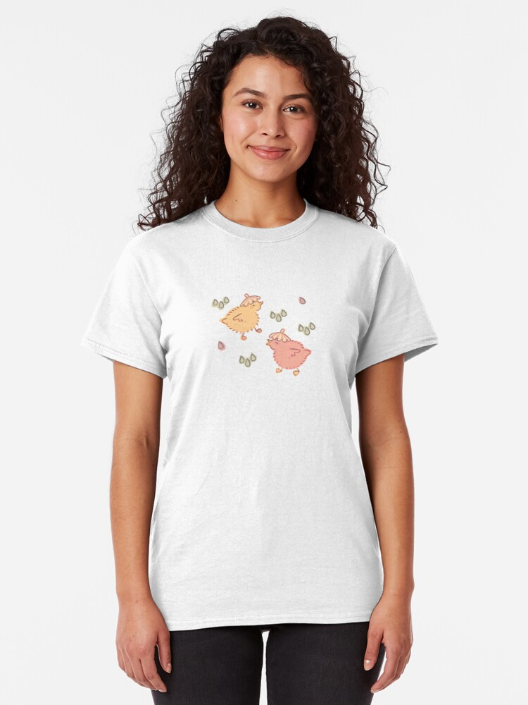 Alternate view of Shower Ducklings - Light Classic T-Shirt