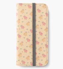 Shower Ducklings - Light iPhone Wallet/Case/Skin