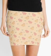 Shower Ducklings - Light Mini Skirt