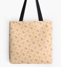 Shower Ducklings - Light Tote Bag