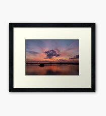 A visit to my world Framed Print