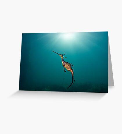 Sun God Greeting Card