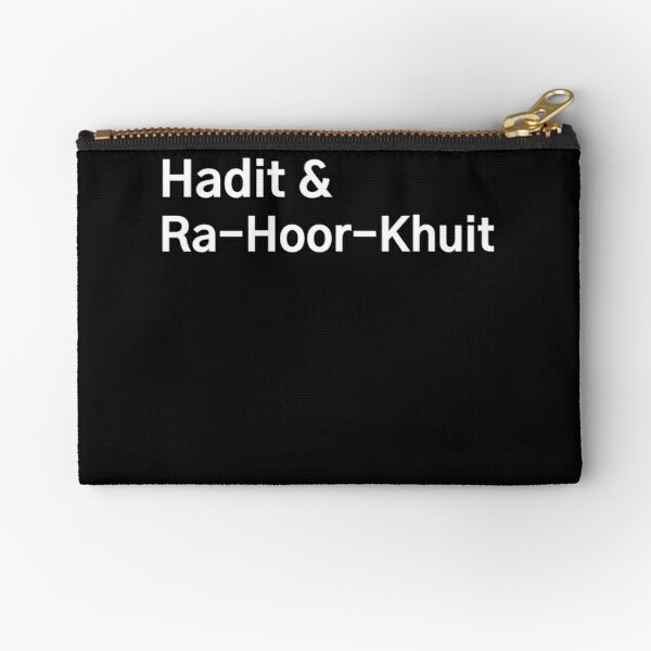 Nuit & Hadit & Ra-Hoor-Khuit - The Thelemic Trinity Zipper Pouch