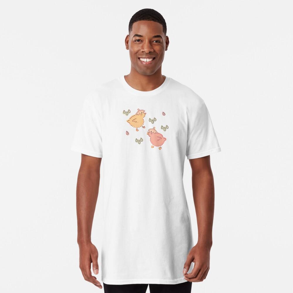Shower Ducklings - Light Long T-Shirt
