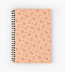 Shower Ducklings Spiral Notebook