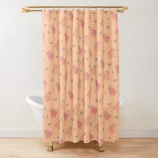 Shower Ducklings Shower Curtain