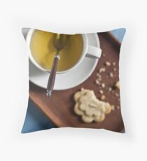 Camomille Cookies Throw Pillow