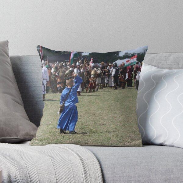 Bullwhipping Child! Throw Pillow