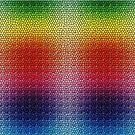 Rainbow Dragon Scales by C. Ella