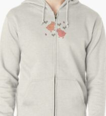 Copy of Shower Ducklings - 2 Zipped Hoodie