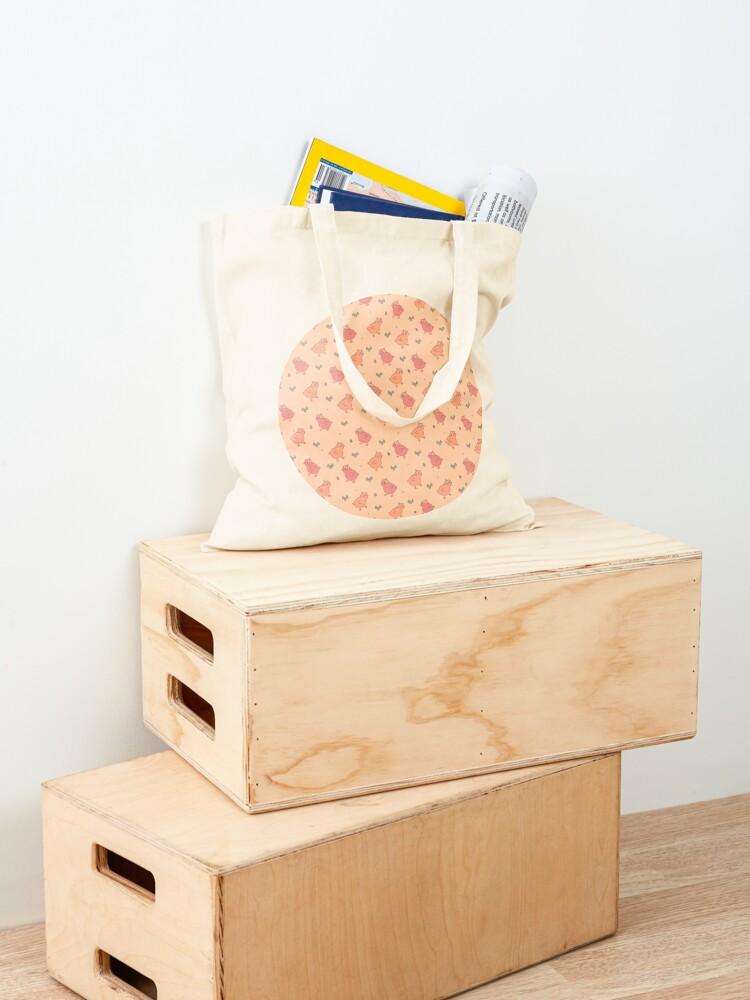 Alternate view of Copy of Shower Ducklings - 2 Tote Bag