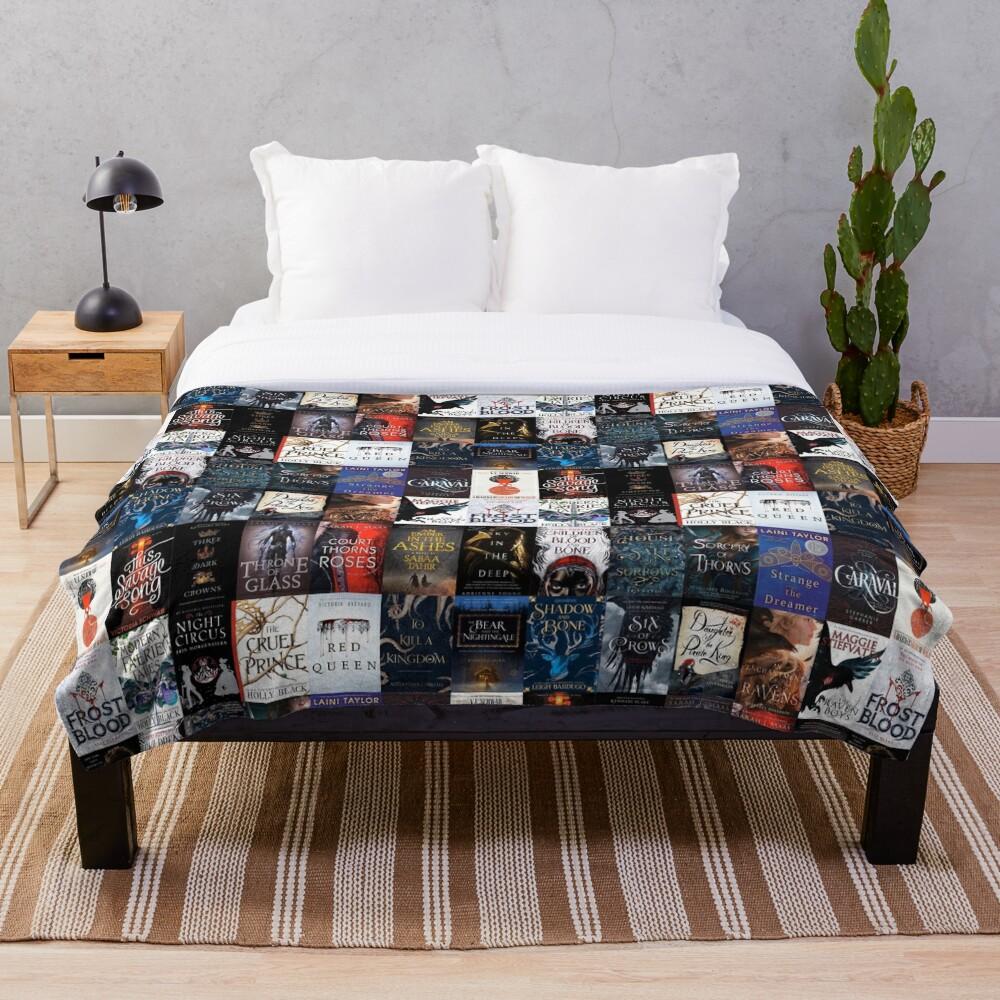 YA Fantasy Classics  Throw Blanket