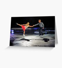 torvill and dean Greeting Card