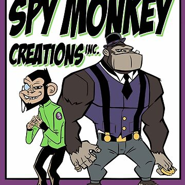 Spy Monkey Creations Inc Logo! by spymonkey