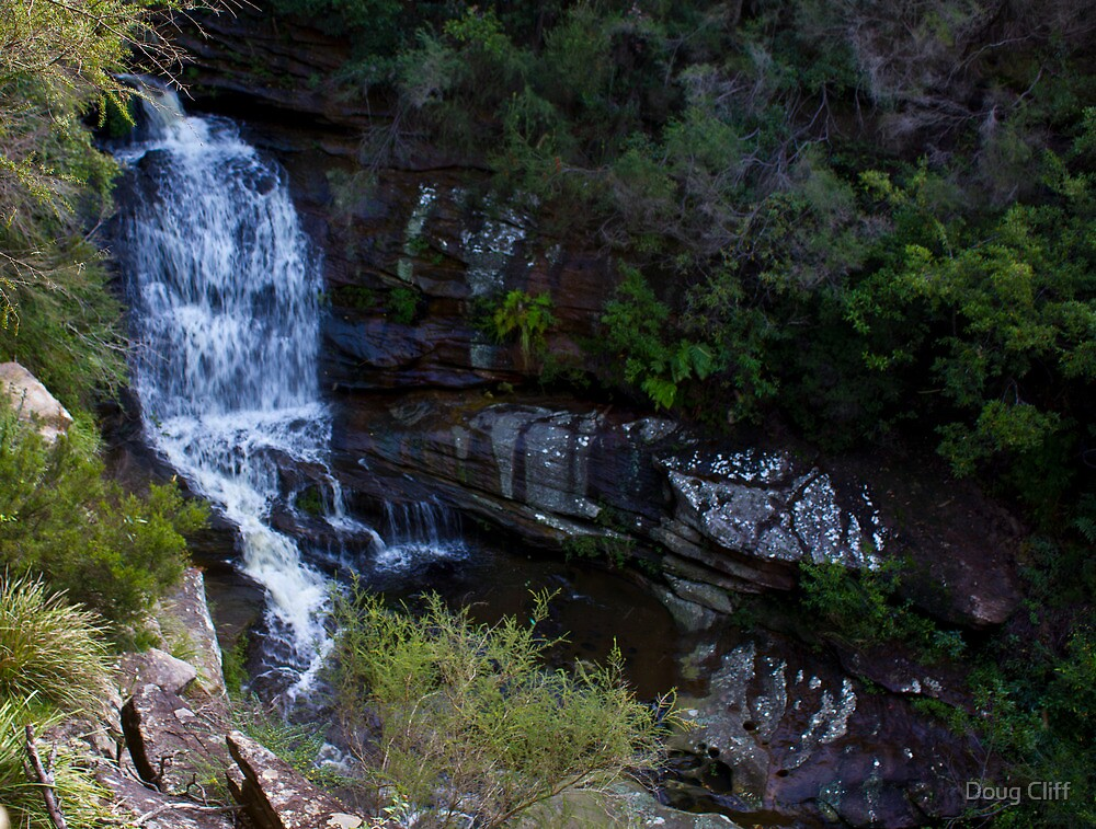 Sydney Suburban Waterfalls (Oxford falls) by Doug Cliff