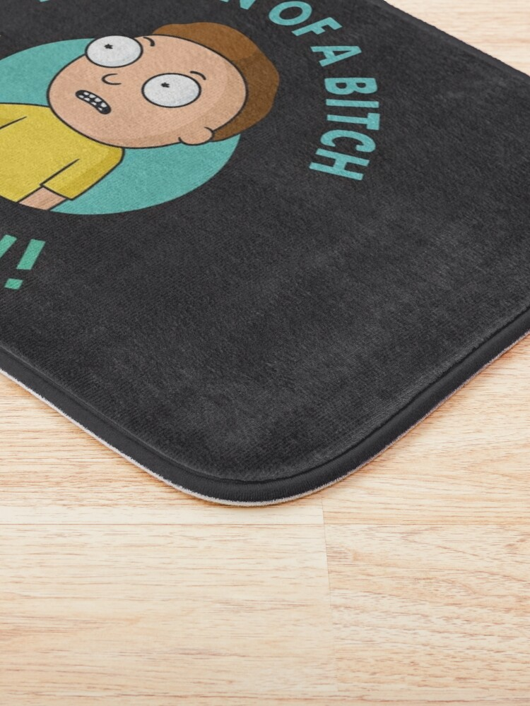 Alternate view of You Son of a Bitch, I'm In - Morty Bath Mat