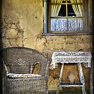 Ackerman's Cottage cameo ~ Hill End NSW by Rosalie Dale