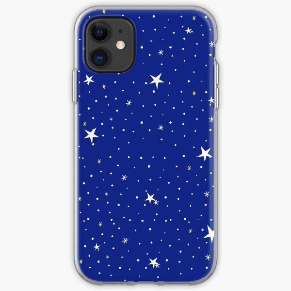 Blue night sky  iPhone Soft Case